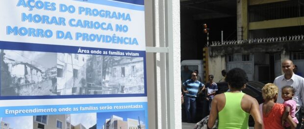 Plans for Morar Carioca projects in Providência.