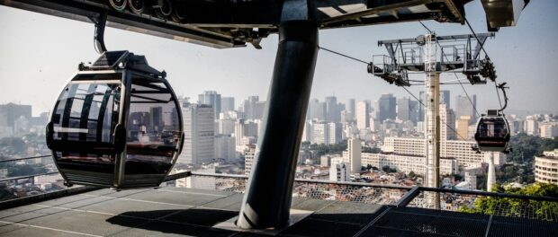 Providência cable car. Photo by Bruno Itan/ GOVERJ