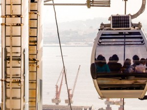 Providência cable car overlooking the port. Photo by Bruno Itan/ GOVERJ