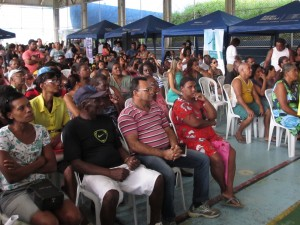 Audience at the Caravan of Rights public audience
