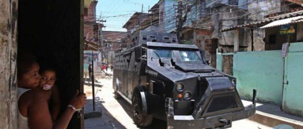 BOPE caveirão armored vehicle