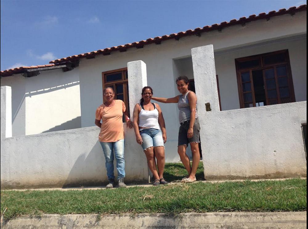 Carminha, Maria Ribamar, and Vanilsa.