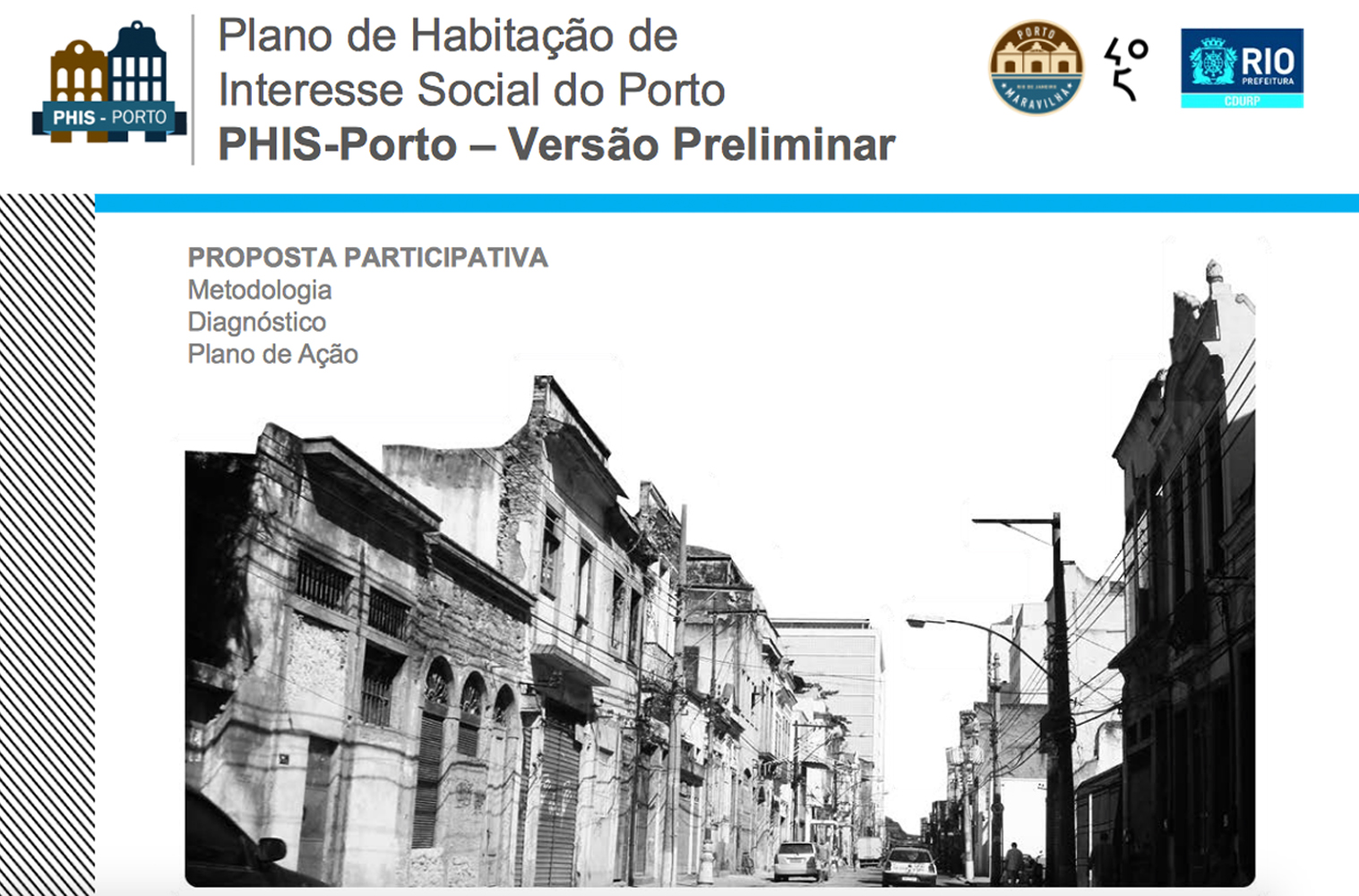 Rio Announces Participatory Housing in the Port Area