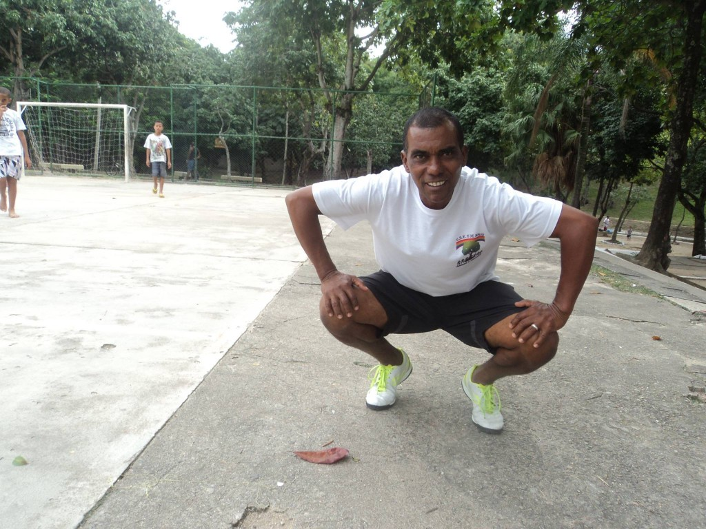 Jose Fernando Silva at Orlando Leite Public Park