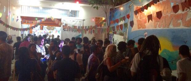 ESPOCC after-party at Observatório de Favelas