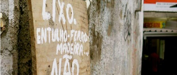 Lixo Sign Julio Otoni