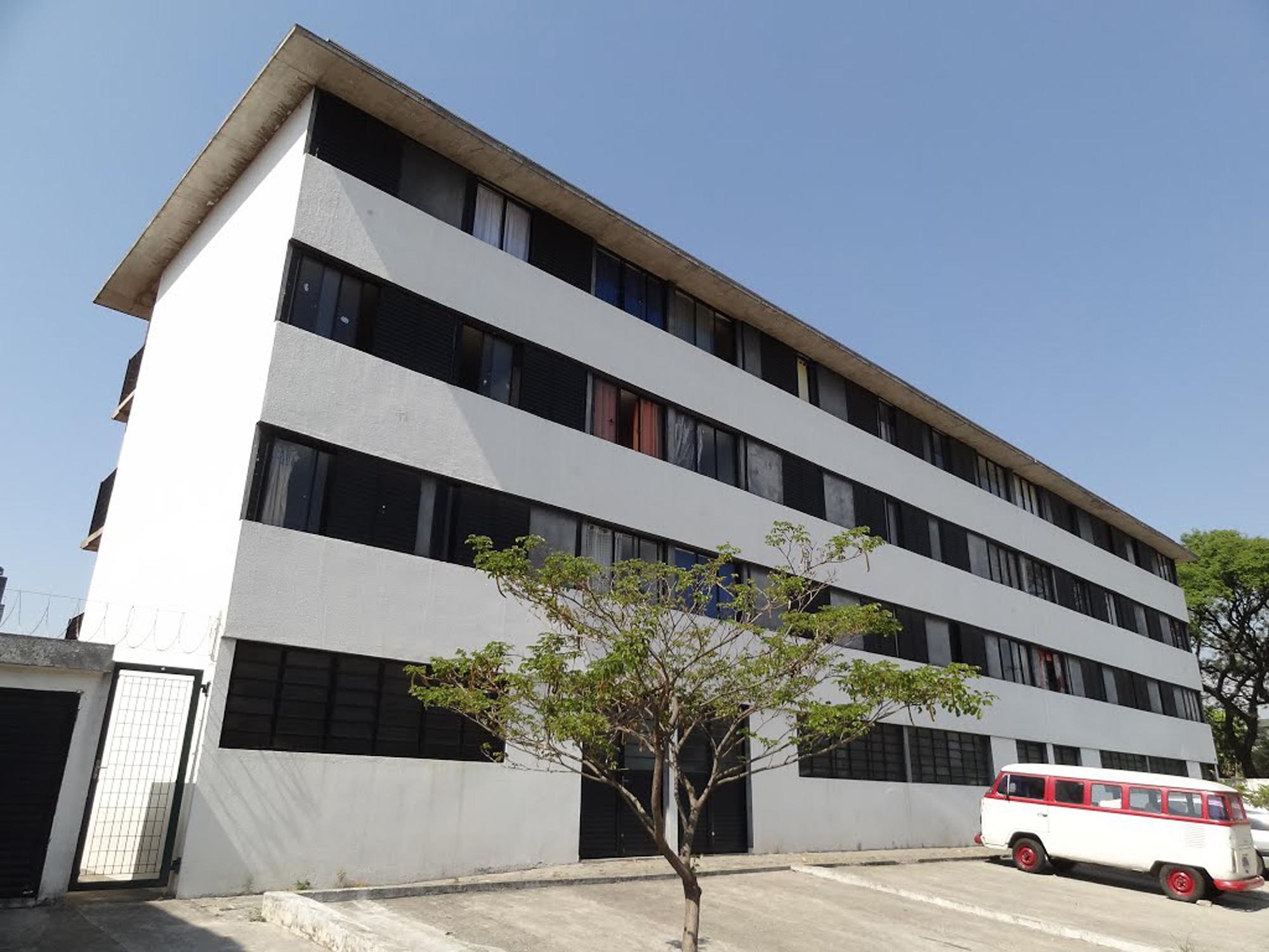 Vila dos Idosos social rent complex in São Paulo