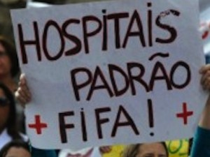 Protests for better hospitals and healthcare
