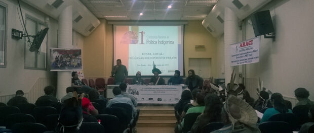 Gathering in São Paulo discussed indigenous peoples who live in urban spaces.