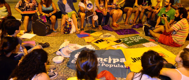 Protesters against age reduction in Rio de Janeiro (by Tomaz Silva/Agência Brasil)