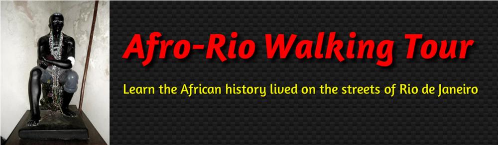 AfroRio Walking Tour site