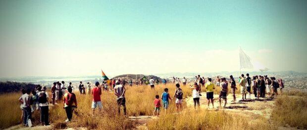 Verdejar's mutirão day of action for the Serra da Misericórdia. Photo by Barraco 55