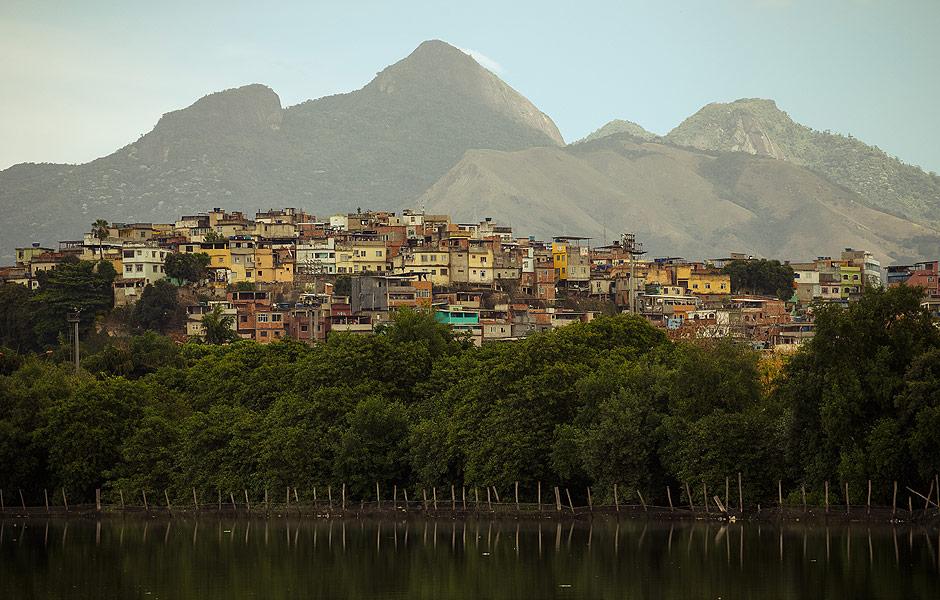 View of Complexo do Maré. Image: Daniel Marenco / Folhapress