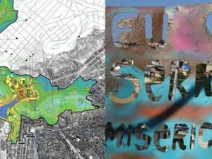 Left - Park Map, by Rio Prefeitura; Right - Photo by Instituto Raizes em Movimento