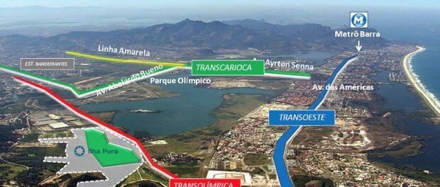 Ilha Pura promotional access map