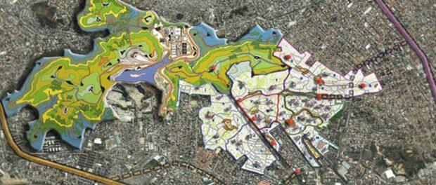 Jauregui Plan for Park Serra da Misericordia