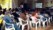 Audience at event on community tourism along the Costa Verde