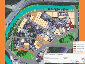 Vila Autódromo Popular Plan Version Three