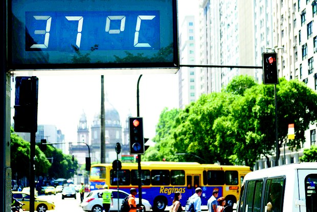 The increase of temperatures in Rio will be one of the largest among the big cities in the region. Photo by Saulo Stefano / O Dia archive.