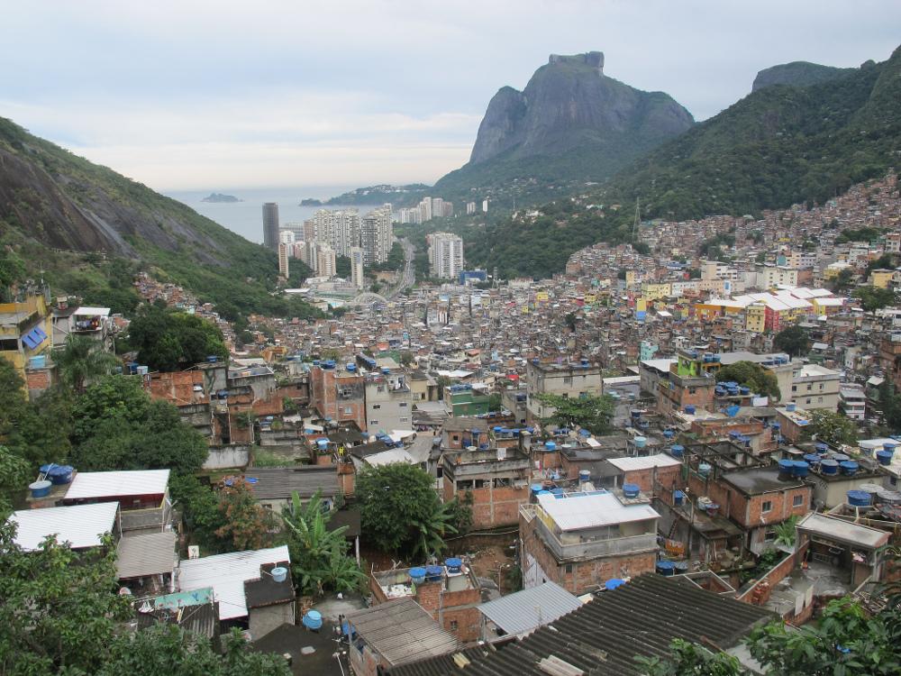 Rocinha from top