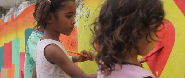 Favela Art. Photo: #TodosPeloAlemaão Facebook page