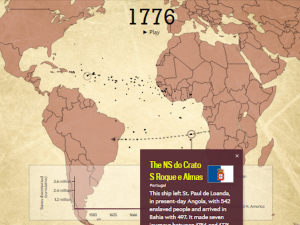 Slate's Interactive Atlantic Trade Map