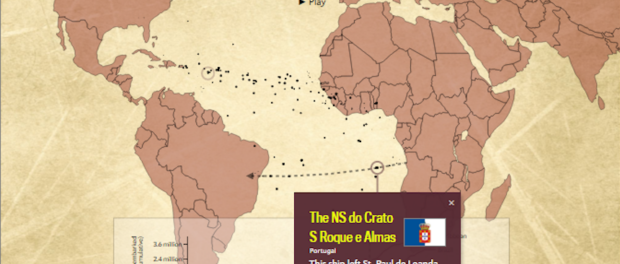 Slate's Interactive Atlantic Trade Map