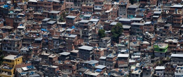 Aerial view of Rocinha. Photo by Felipe Dana/AP