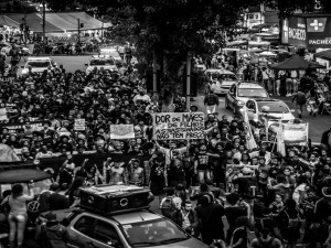 Protest in Madureira. Photo by Ian Miranda
