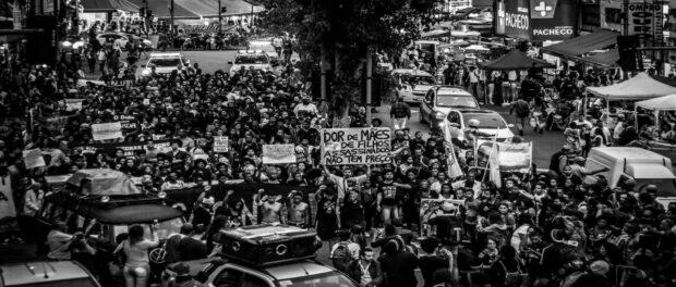 Protest in Madureira. Photo by Ian Miranda