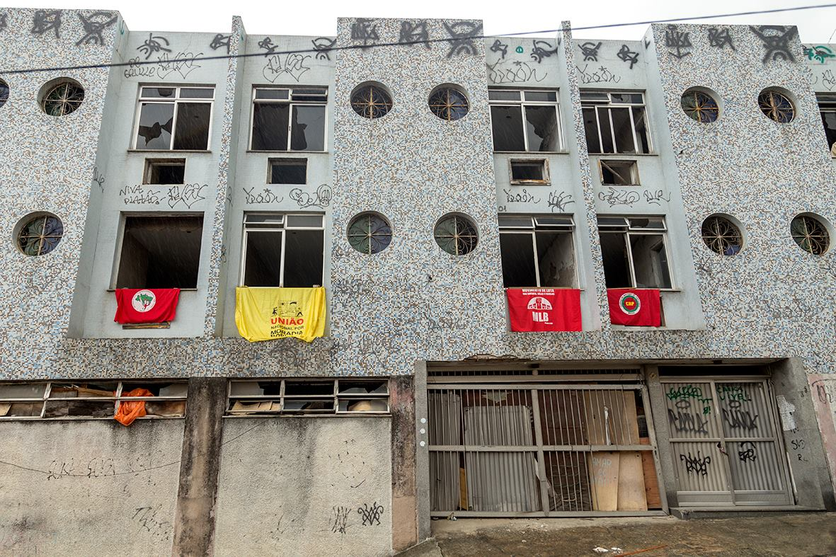 The Vito Gianotti Occupation has taken over an abandoned hotel in Santo Cristo