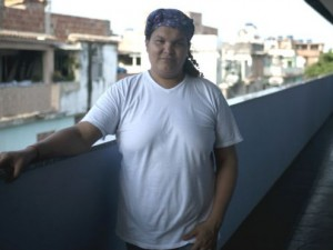 The Rio de Janeiro State Legislative Assembly will pay homage to Gilmara Cunha, 31, for her services to the LGBT community.  Photo by Fabio Teixeira