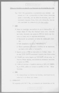 "Minutes from a meeting held in 1971: ""Intensify raids on the favelas, carrying out the order 3-4 times a week"""