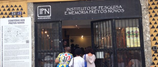 The New Blacks Research Institute is located in Rio's Port Region