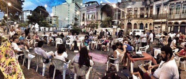 Event debating water in Rio de Janeiro. Photo by Se a Cidade Fosse Nossa Facebook page