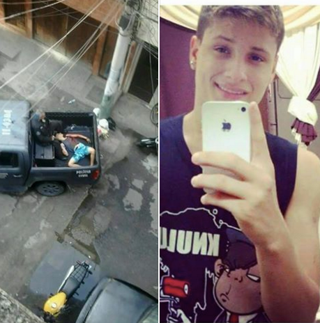 Igor Silva was shot and killed by police in Maré on Monda February 22