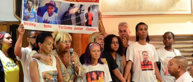 Families of the five youths killed by police in November 2015 and children killed in other attacks