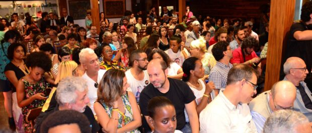 The launch of Amnesty's annual report was met with a full house in Rio de Janeiro