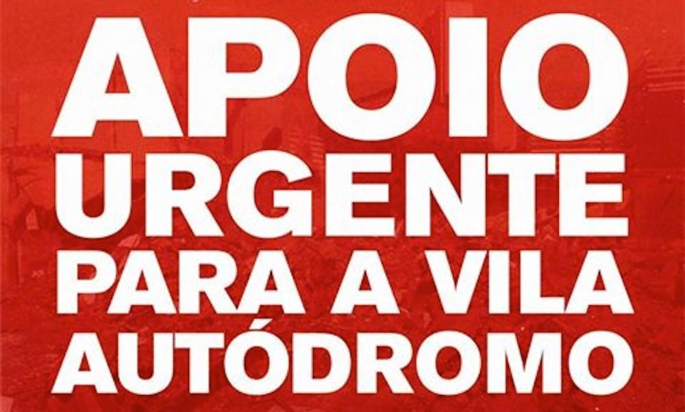 Vila Autódromo residents issue call for support on social media
