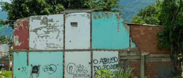 Graffiti in Vila Autódromo