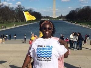 Heloisa Helena continues her struggle in Washington DC