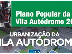 Peoples' Plan and City Plan for Vila Autódromo upgrades