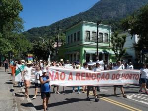 Horto Street Protest