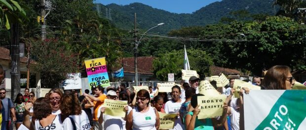 Horto residents protest on Sunday