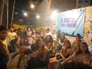 Youth from across Rio de Janeiro gathered in Casa da Juventude to debate impact of urban planning on access to rights