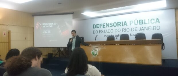 Fábio Amada, public defender and coordinator of the Center for Human Rights in Rio De Janeiro