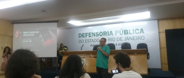 Project coordinators of the Youth Forum in Rio De Janeiro