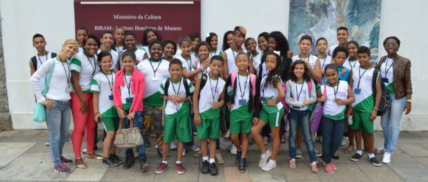 The NGO often takes children on cultural excursions in the city