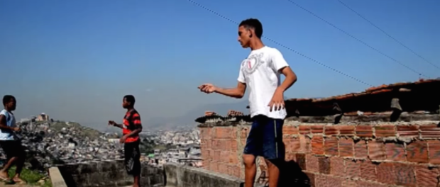 Kite scene from MC Calazans video