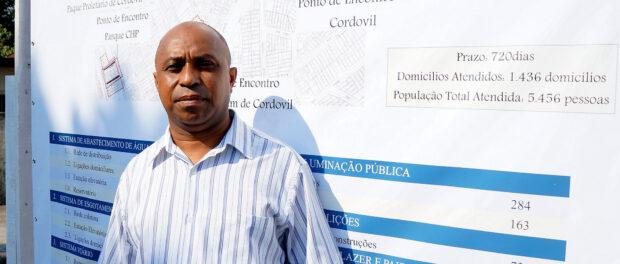 Irenaldo Honorio da Silva, president of Pica-Pau's neighborhood association